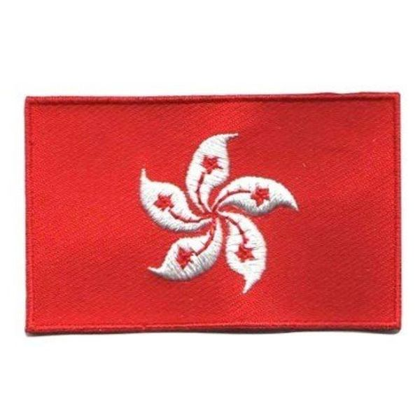 Hong Kong flag patch