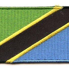 Flaggenpatch Tansania