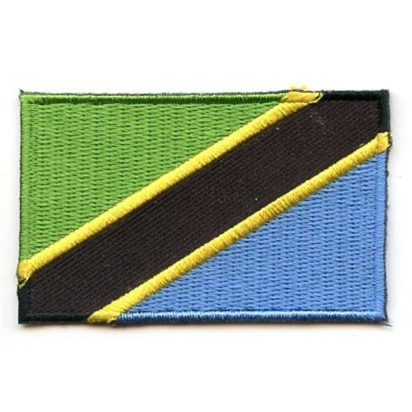 BACKPACKFLAGS flag patch Tanzania