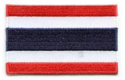 Flagge Patch Thailand