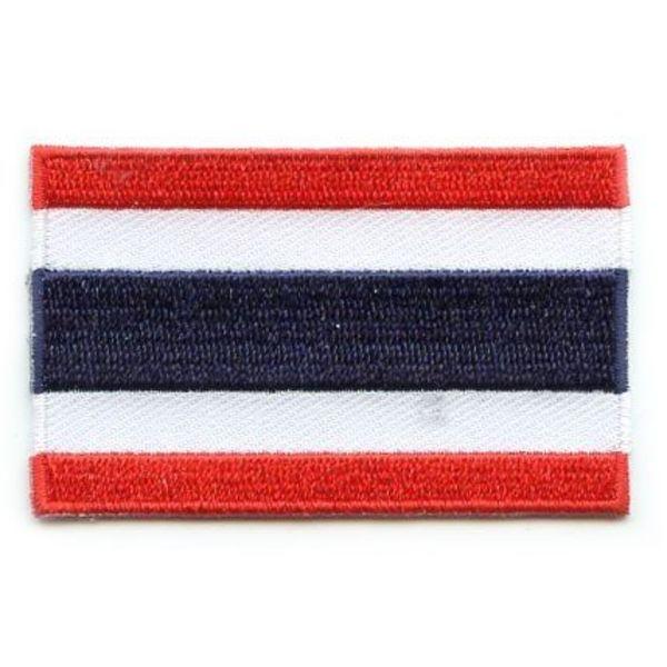 Thailand-Flaggenflecken