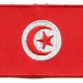 Flaggenpatch Tunesien