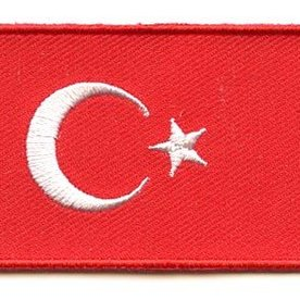 Flagge Patch Türkei