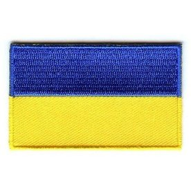 Flaggenpatch Ukraine