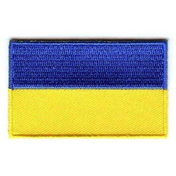 Ukraine-Flaggenflecken