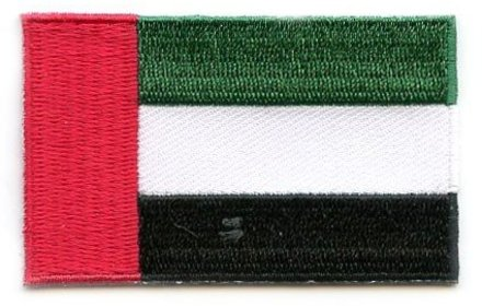 flag patch United Arab Emirates