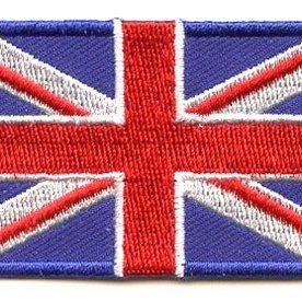 BACKPACKFLAGS flag patch United Kingdom