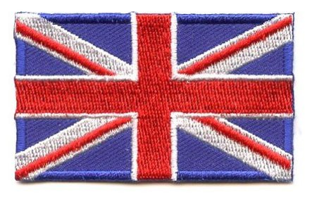 flag patch United Kingdom