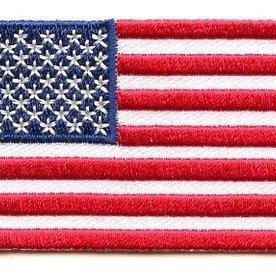 Flaggen-Patch Vereinigte Staaten von Amerika