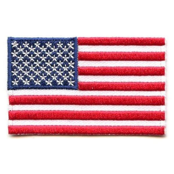 BACKPACKFLAGS flag patch United States Of America
