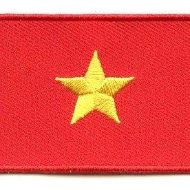 Flaggenpatch Vietnam