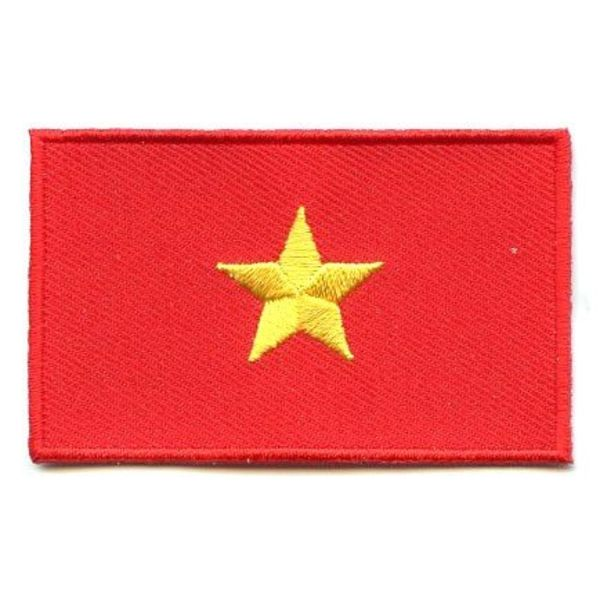 Vietnam Flagge Patch