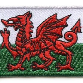 BACKPACKFLAGS flag patch Wales