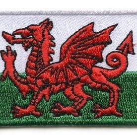 Flaggenpatch Wales