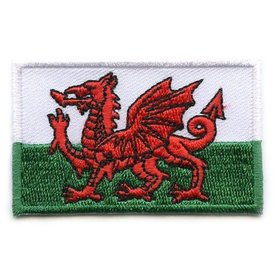 Flaggenpatch Wales
