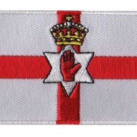 BACKPACKFLAGS flag patch Northern Ireland