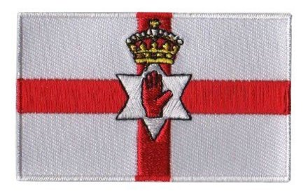 flag patch Northern Ireland