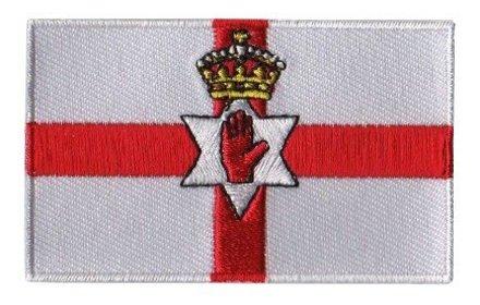 Flaggenpatch Nordirland