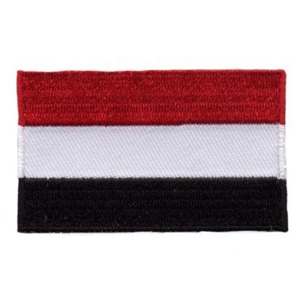 Flagge Patch Jemen