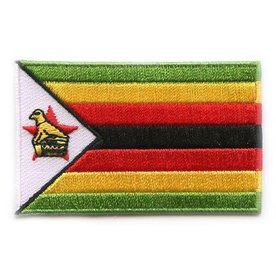 BACKPACKFLAGS flag patch Zimbabwe