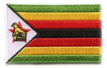 flag patch Zimbabwe