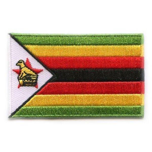 Flagge Patch Simbabwe