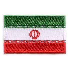BACKPACKFLAGS flag patch Iran