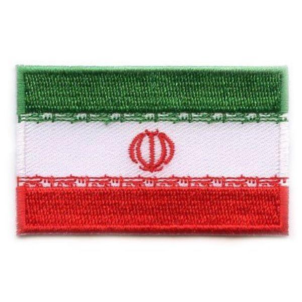 Iran flag patch