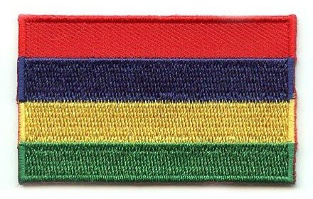 Flagge Patch Mauritius