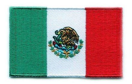Flaggenpatch Mexiko