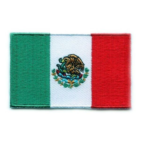 BACKPACKFLAGS flag patch Mexico
