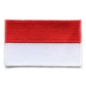 BACKPACKFLAGS flag patch Monaco