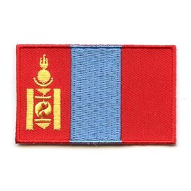 BACKPACKFLAGS flag patch Mongolia