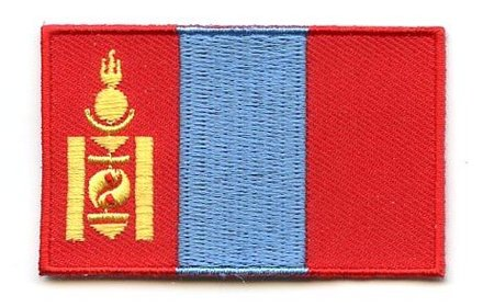 flag patch Mongolia