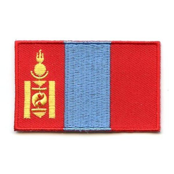 Flagge patch Mongolei
