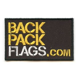Flaggenpatch BACKPACKFLAGS