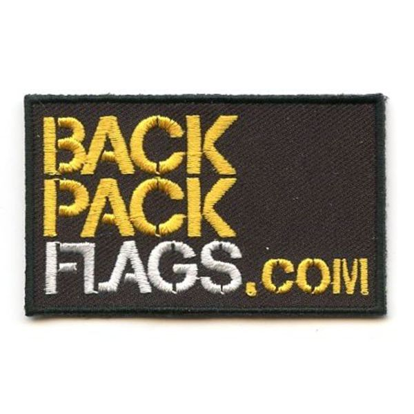 BACKPACKFLAGS flag patch BACKPACKFLAGS