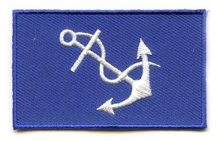 Flag Patch Kapitän