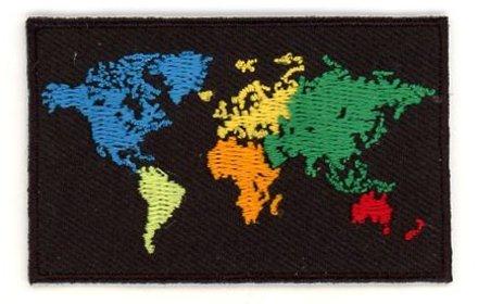 vlag patch Wereld
