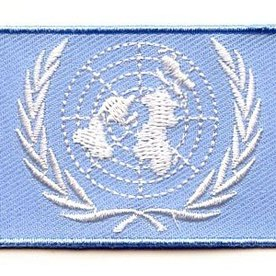 flag patch United Nations