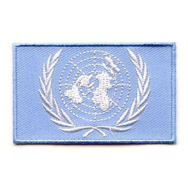 Flaggenpatch der Vereinten Nationen