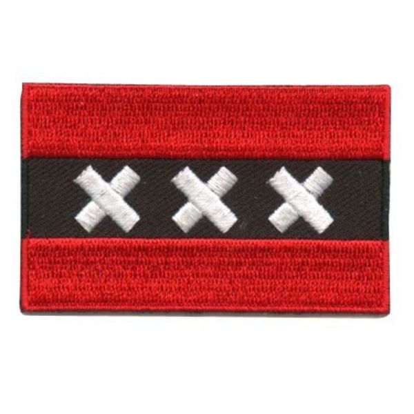 Amsterdam flag patch