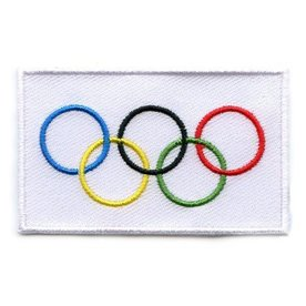 BACKPACKFLAGS flag patch Olympic Games