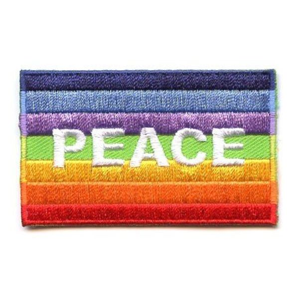 BACKPACKFLAGS flag patch Peace