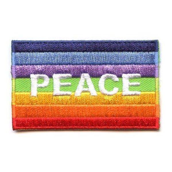 Flaggenpatch Frieden
