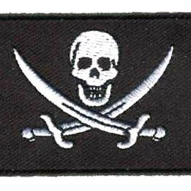 BACKPACKFLAGS flag patch Pirate