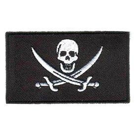 Flaggenpatch Pirat