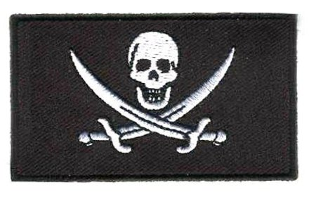 flag patch Pirate