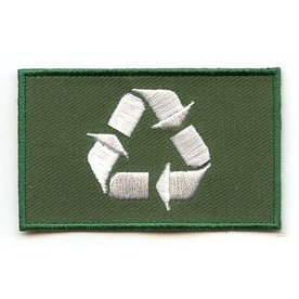 flag patch Recycle