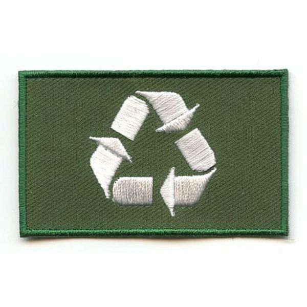 BACKPACKFLAGS flag patch Recycle